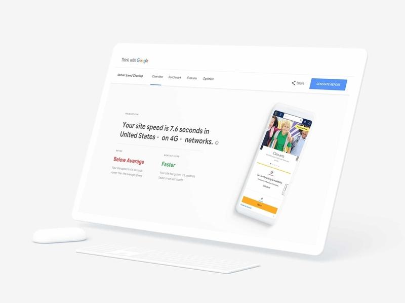 Google - Test My Site - Live Now! by Arjun Mahesh on Dribbble