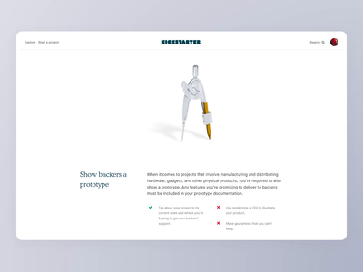New policy page scroll grid layout web policy kickstarter 3d branding c4d material user typography interaction animation visual design interface experience ux ui