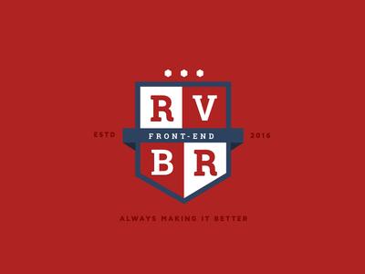 RVBR Front-end Team Crest