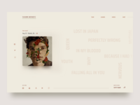 Shawn Mendes new album landing page
