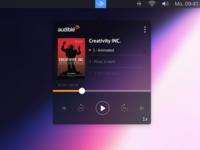 Audible Mac App Concept