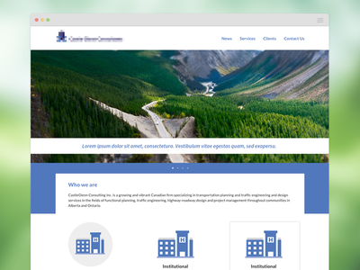 Website Style Tile
