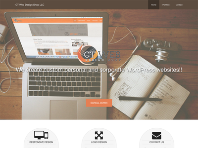 CT Web Design Shop LLC Website web design wordpress