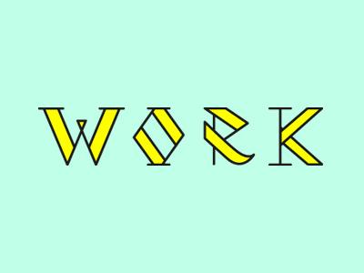 Iggy Azalea  - Work lettering typography