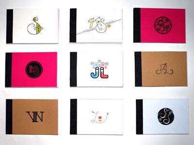 Liga-Books ligature typography fun books
