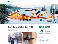 Deer Valley Blog Design