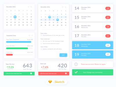 Calendar UI - Freebie app colors free free ui application ui sketch freebie minimal clean ui calendar mobile