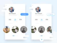 Profile UI and Friend Finder