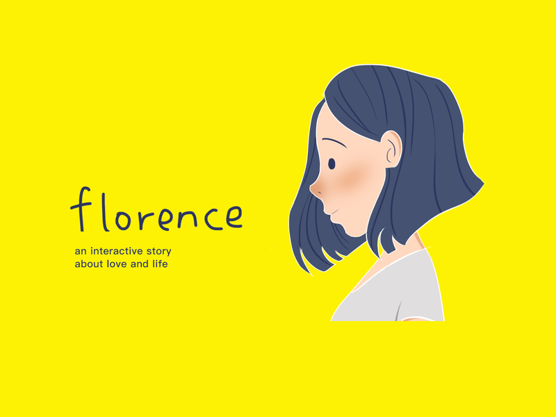 Florence designer、photoshop woman character yellow girl florence illustration