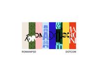 romainpsd.com colorscheme palette romainpsd typography colors fonts portfolio design portfolio