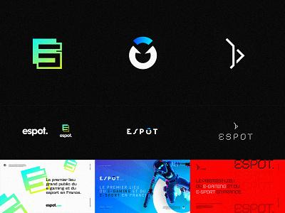 Logo Concept 01 gaming branding identity logotype logo