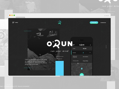 O'RUN — Website