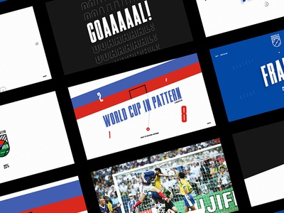 World cup in Pattern - Interface bodymovin soccer worldcup russia ui design interface football