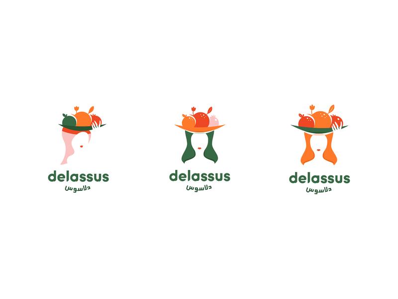 Logo exploration #2 fruit fruits woman d logotype logo identiy