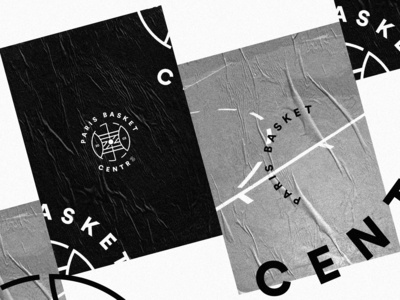 🏀 Basketball Logo Concept - 01 basketball paris identity basket logo