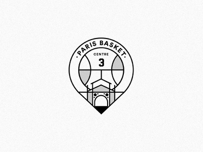 🏀 Basketball Logo Concept - 02 paris basket basketball logotype logo identity