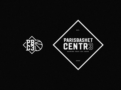 🏀 Basketball Logo Concept - 03 paris basketball logotype identity logo