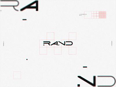 Rand 002 - Logotype identity rand r branding logotype logo