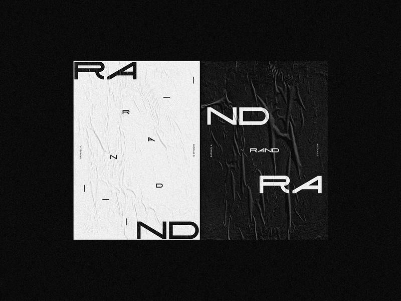 Rand 003 - Logotype rand r branding logotype identity logo