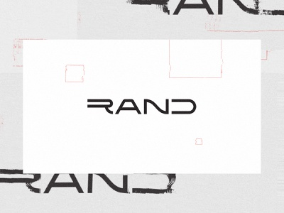 Rand 004 - Logotype rand r branding logotype logo identity