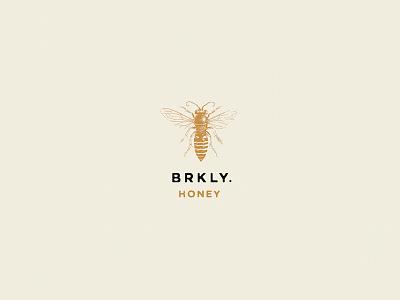 Honey identity logo branding design