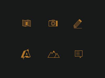 Iconz identity logos illustration branding design