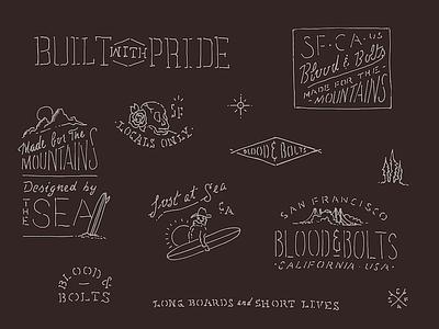 Flash logo identity hand lettering typography illustration branding design