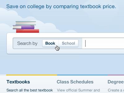 Textbook Radio Search Input textbooks search input textbox books clouds