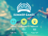 Limeade Summer Games