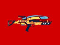 Mass Effect Assault Rifle