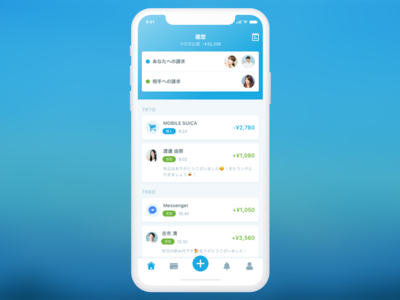 Payment Concept UI fintech financial wallet visa payment money creditcard ui app