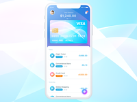 Wallet Concept UI