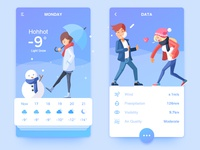 Weather APP and Illustration