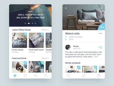 Product Recommendation APP evaluation recommend shopping ux ui