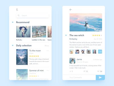 Illustrator Online Communication app user ui illustrator communication