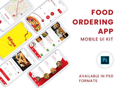 Online Food Ordering App UI