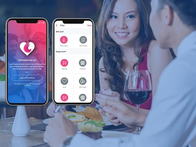 Best Dating and chatting App UI Kit best ios dating kit best android ui kit online dating app best chatting app best dating app chatting app ui kit dating app ui kit