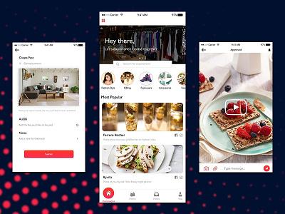 Live Streaming App UI best design app best ui kit real estate app food app youtube clone insta clone ios app android app social app ui live stream app