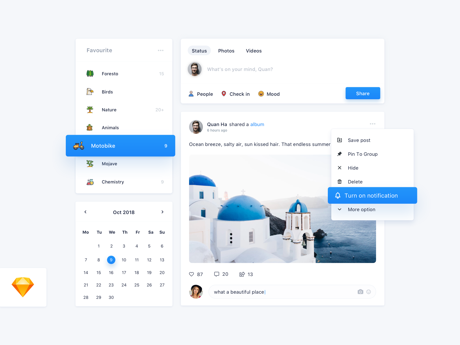 005 Daily UI Challenge for 100 days: Social Network. white ui daily 100 network system dashboard website social clean uidesign design elegant clear ui ux sketch simple hello minimal dribbble