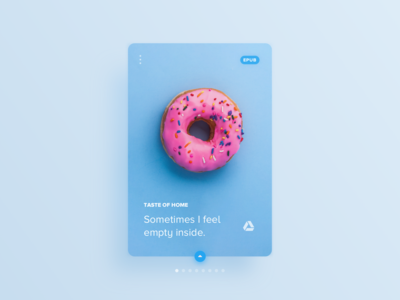 015 Daily UI Challenge for 100 days: ebook card 4