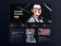 021/100 Daily UI : Comic Studio Website