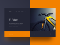 043/100 Daily UI : 9grids project - eBike