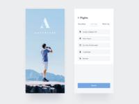 047/100 Daily UI : Travel App - Splash & Booking