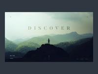 Discover - Parallax website