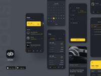 Airbasket App - Dark Mode