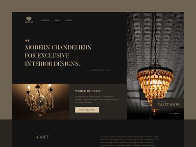Meludes Website Concept website uidesign dark minimal clear ui ux simple clean elegant