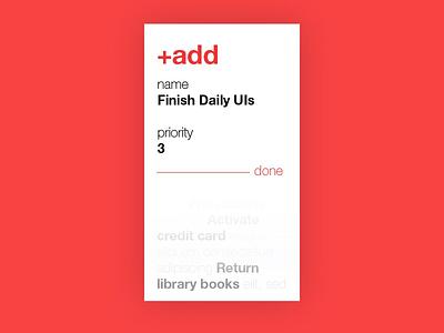 Daily UI #090: Create New. create new daily ui