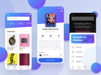 Novely - App for short book/stories