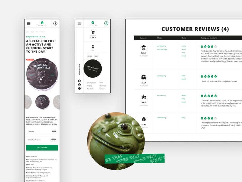 Concept website for tea shop chinese tea ecommerce shop swiss website webdesign web design ui