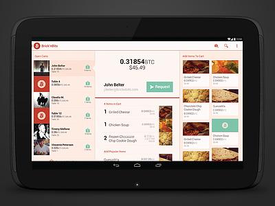 Bitcoin Register android ui tablet nexus 10 bitcoin app register ux